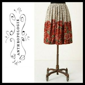 Edme and Esyllte Mid Creation Floral Skirt Size 6